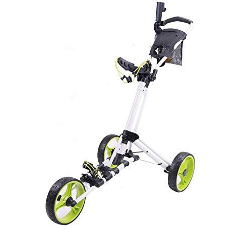 qiuqiu Chariot De Golf Chariot À Poussoir De Golf Chariot...