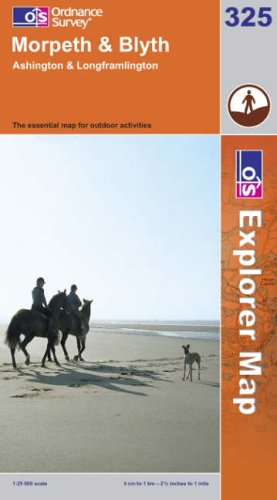OS Explorer map 325 : Morpeth & Blyth