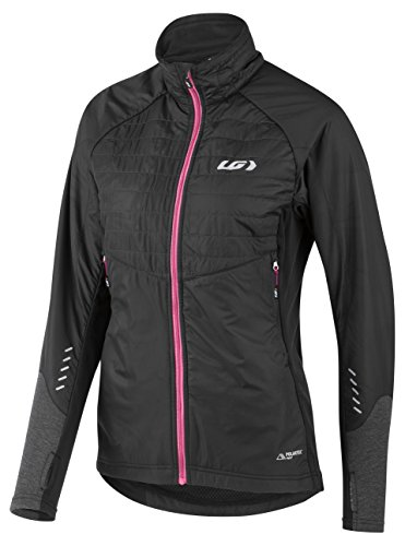Louis Garneau - Women's Cove Hybrid Bike Jacket, Black/Pink, Large
