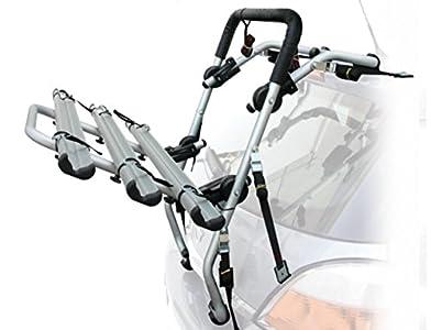 Peruzzo 650/3 Padova Portabicicletas Trasero de Aluminio para 3 Bicicletas