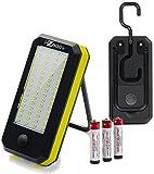 Versa Smart Utlility Light - 900 Lumens Extreme Brightness - 60 SMD Work Light - 4 LED Flashlight - for Camping, Emergency Kit, Auto and Home Repair.