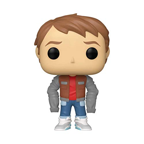 Funko Pop Marty in Jacket #1025 Back to The Future Marty McFly