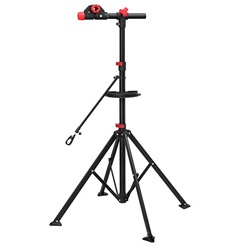 SONGMICS Bike Repair Stand Rack with Quick Release...