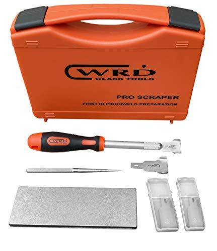 WRD-SKB Pro Scraper – Kit B Pinchweld Preparation Kit. Windshield Urethane Removal Scraper