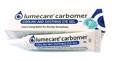 Lumecare Carbomer soothing eye gel 3 x 10g tubes BULK BUY by Lumecare