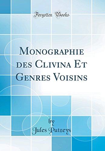 Monographie des Clivina Et Genres Voisins (Classic Reprint)