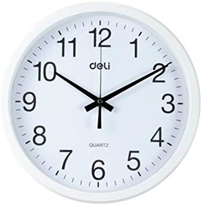 Znzbzt Simple and Stylish Mute Wall Clock Living Room Wall Round Wall Clock 30cm Diameter