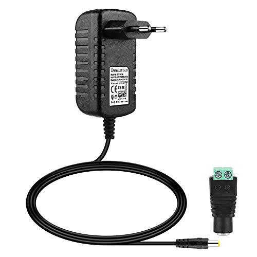 EFISH 12V 1A 12W Trafo liefern Netzteil,Netzstecker für Hausgeräte,CCTV Kamera,Yamaha Keyboard,Router,Hubs,LED-Streifen,Telekom,T-Com,Speedport,Radiowecker,Scanner,Schalter,Türklingel CE/GS Genehmigt