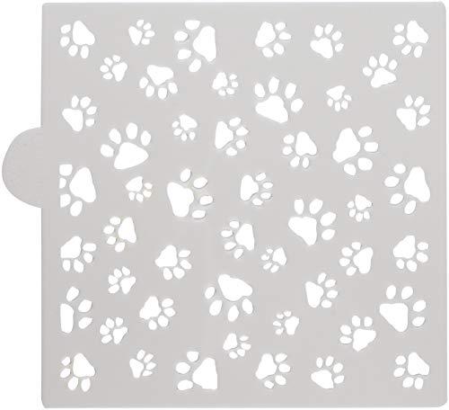 Designer Stencils - Plantillas para galletas y manualidades con diseño de patas de perro