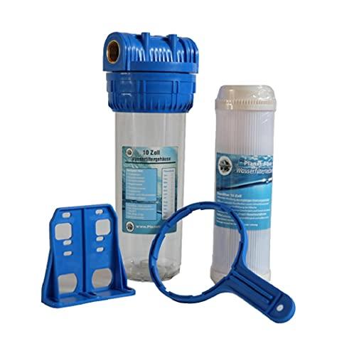 Wasserfilter Gehäuse Set Filtergehäuse 10 Zoll x 3/4