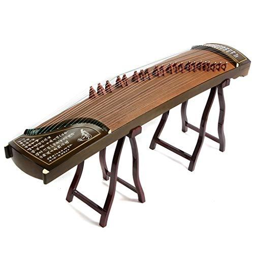 GuanXiao Chinesische Zither Manuelle Gravur Professionelle Bewertung Spielen Guzheng Instrumentale Leistung Paulownia 163CM