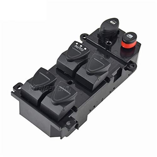 KUANGQIANWEI Elektrischer fensterheber 1PC schwarzer elektrischer Schalter for Fensterheber Autotür Stromflügelglas Schalter 35750-SNV-H51 Fit for Honda Civic FA1