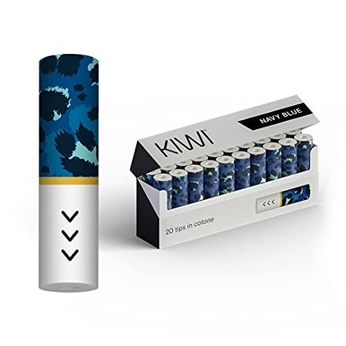 Kiwi Sigaretta Elettronica filtro in cotone - Ufficiale Kiwi - 40 pezzi (blu)