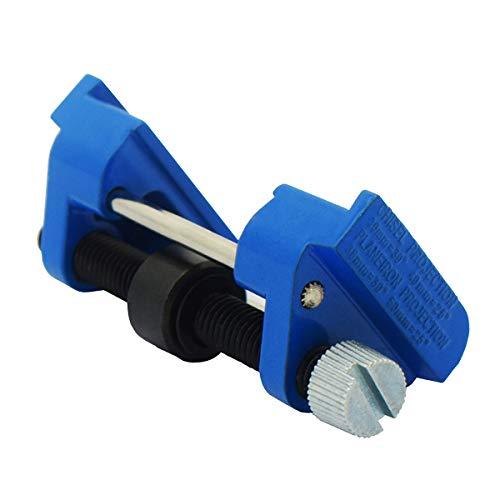 CartLife Honing Guide Jig for Wood Chisel Edge Sharpening Holder,Fixed Angle Knife Sharpener,Clamping Planer Blade,Graver,Flat Chisel Hand Tool (Chisels 1/8