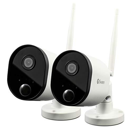Swann Caméra de sécurité intérieure Wi-Fi, SWWHD-OUTCAMPK2-UK