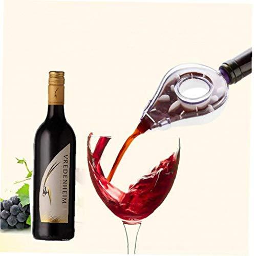 Angoter Herramientas de Accesorios de Viaje Vino Mini Bar Accesorios aireador de Vino Vino de la Jarra aireador de Vino Tinto Whisky aireador Decanter