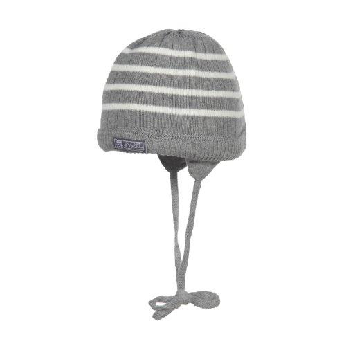 Döll Unisex - Baby Strickmütze, Gr. 43 cm (Herstellergröße: 43) Grau (light gray melange 8100)
