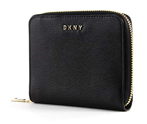 DKNY Portefeuille Bryant en cuir noir