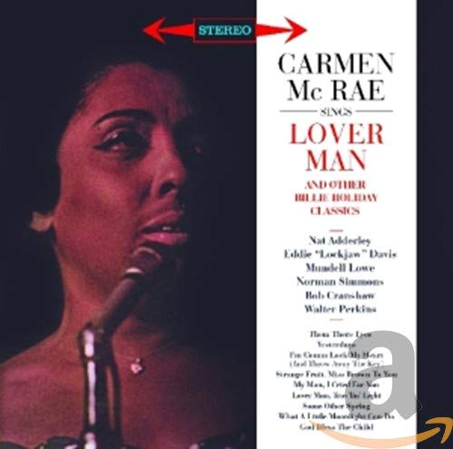 Sings lover man & other billie hollyday classics bonus album : carmen mcrae (195