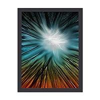INOV 虹彩 インテリア絵画 壁 絵画 ベッドルーム 木枠付きの完成品 プレゼントに 芸術の絵画 軽くて取り付けやすい(木枠付30x40cm)