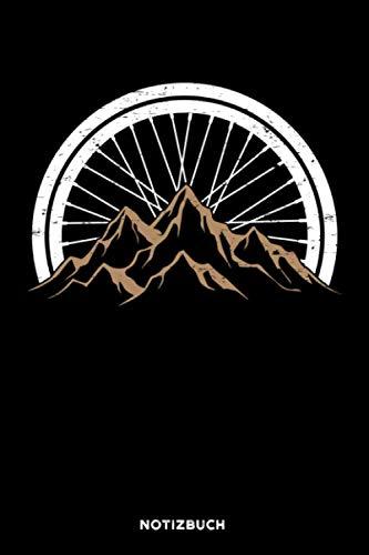 Fahrrad Berge: Notizbuch für Fahrradfahrer | liniert | 120 Seiten | ca. A5 Format (15.24cm x 22.86 cm)