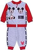 Chándal bebé rojo y gris Mickey Disney Gris gris 6-9 Meses