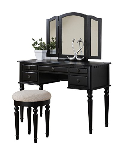 Bobkona ST.Croix Collection Vanity Dresser Set