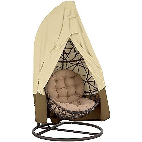 H-BEI Swing Hanging Egg Stuhlbezug, wasserdichter, staubdichter UV-Schutz für Gartenmöbel