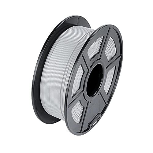 Night K 3D-Druckerfilament, 1 kg 1,75 mm Filament PLA, für 3D-Drucker und 3D-Stifte, grau