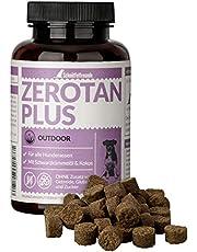 Schnüffelfreunde Zerotan Plus I con Aceite de comino Negro y Aceite de Coco - Apoya al Perro Durante la Temporada al Aire Libre - Snack para Perros (150g)