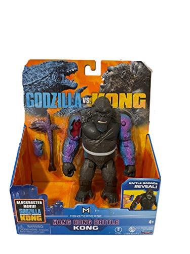 MonsterVerse Godzilla vs. Kong 6' Hong Kong Battle (Kong 6' Hong Kong Battle)