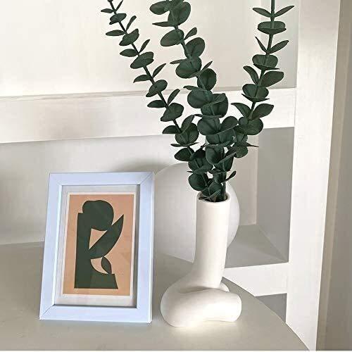 Blumentopf Wlnnes moderne stil blume vase keramik kunst körper blume topf frau arsch vase skulptur handwerk weiß keramik dekorative vase wohnkultur wohnzimmer porch blume...