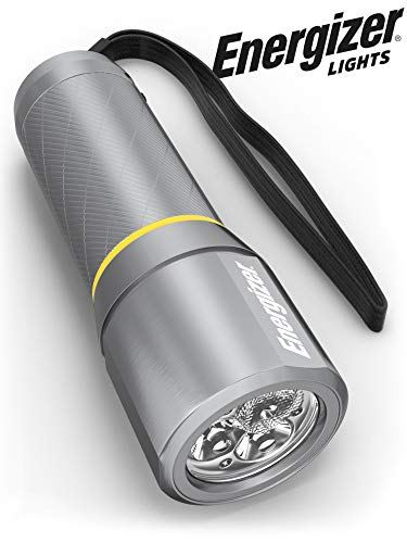 Energizer LED Metal Flashlight, 270 Lumens Bright LED, Durable Aircraft-Grade Metal Body, IPX4 Water-Resistant, 3 Modes