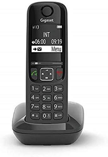 Gigaset AS690 - Téléphone fixe sans fil - Noir