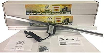 2 Light Rail 3.5 IntelliDrive Kits Motor with Rail, Robotic Grow Light Mover Genuine Solidly Made in The USA
