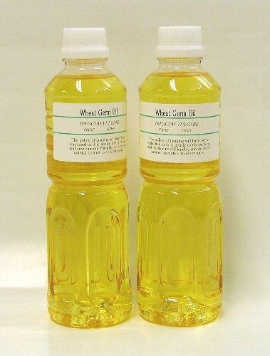 小麦胚芽油(ウィートジャームオイル)1L(500ml×2本仕様) 【キャリアオイル(マッサージオイル)・美容オイル】 【いまじん】