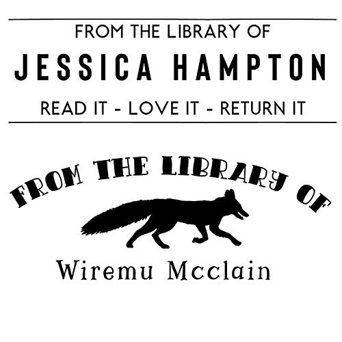 LIBRARY STAMP - Library of Stamp, Custom Library Stamp, Book Stamp, This Book Belongs To, Custom Book Stamp, Bookplate Stamp, Library Stamps