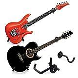 Minor Finger Guitar Wall Mount Horizontal Wall Hanger Guitar Bass Display Rack