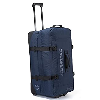 Surfanic-Roller-Bag-Travel-Tasche-Split-Roller-Bag-Rollen-leicht-Haltegriff
