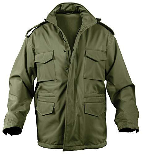 Rothco Soft Shell Tactical M-65 Jacket, Olive Drab, Medium