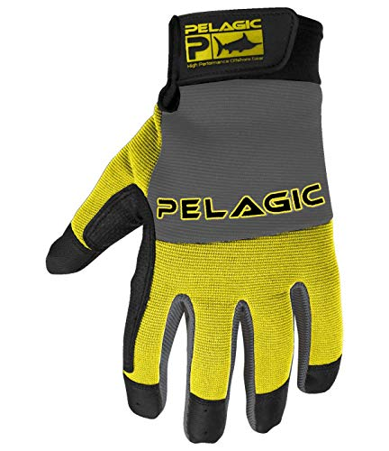 Pelagic End Game Gloves | Size L/XL | Yellow