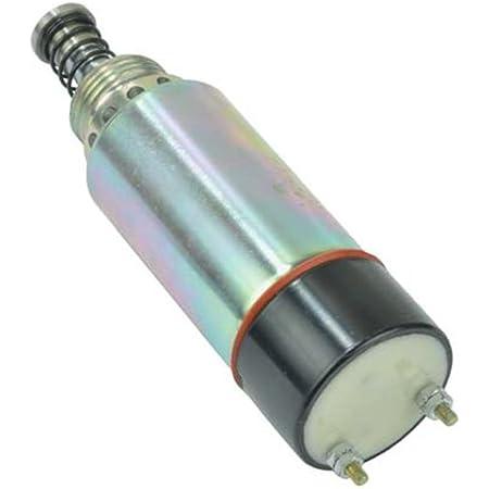 NEW FUEL SHUT-OFF SOLENOID FITS CATERPILLAR 3304B 3306 ENGINES 1255773 125-57773