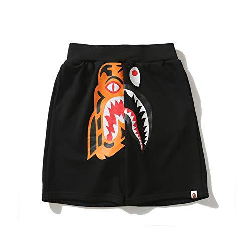 haai broek voor jongens haai hoofd tijger hoofd korte broek mannen vrouwen paren