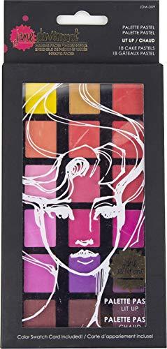 Spellbinders Jane Davenport-Palette lumineuse Pastel 18