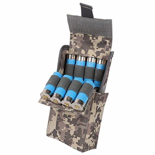 Queenbox 12G Kugeln Paket Jagdschalen Halter Tragbare wasserdichte Antikorrosions-25-Loch Kugel-Taschen im Freien