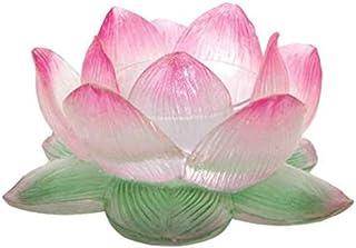 StealStreet Clear Lotus Votive Holder Collectible Figurine