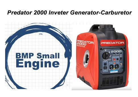 Carburetor Carb Assy. for Harbor Freight Predator 2000 Inverter Generator 62523