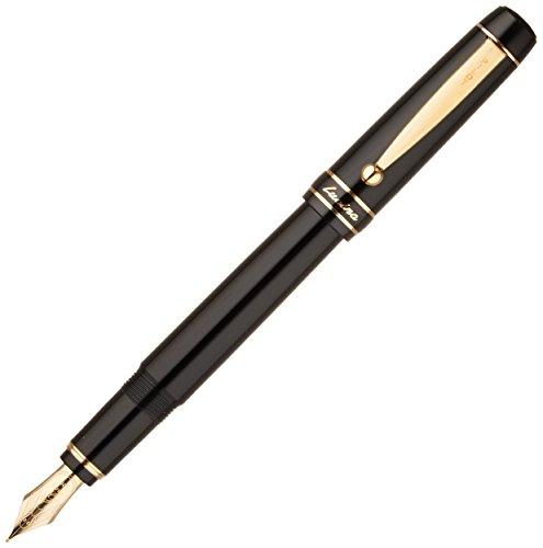 Price comparison product image Pilot Lucina Medium Nib Fountain Pen,  Black Body (FL-5SR-B-M)