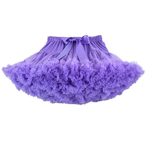 Honeystore Mädchen's Schminktisch Märchen Prinzessin Party Tutu Unterkleid Rock Violett