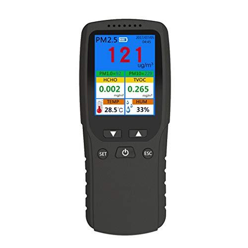 ZChun PM1.0 PM10 TVOC Temp HUM AQI Multi Testdaten Für Innen/Außen/Auto